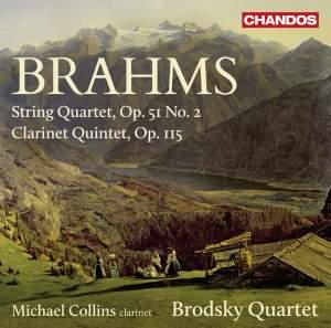 Brahms: String Quartet in A minor, Op. 51 No. 2 & Clarinet Quintet