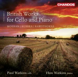 British Works for Cello and Piano, Vol. 3