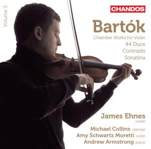 Bartók: Works for Violin and Piano Volume 3