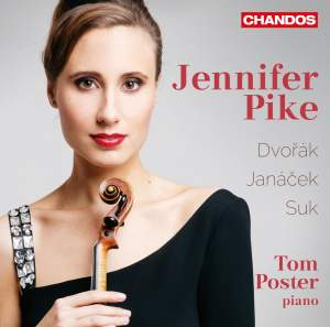 Czech Violin Music: Jennifer Pike Product Image