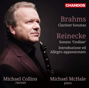Michael Collins plays clarinet sonatas