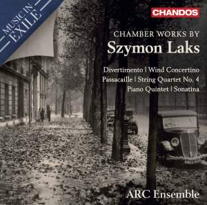 Music In Exile Vol. 3: Chamber Works by Szymon Laks