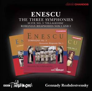 Enescu: The Three Symphonies