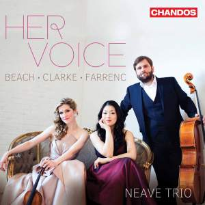 Her Voice: Piano Trios by Amy Beach, Louise Farrenc and Rebecca Clarke Product Image