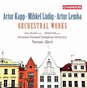 Artur Kapp, Mihkel Lüdig and Artur Lemba: Orchestral Works Product Image