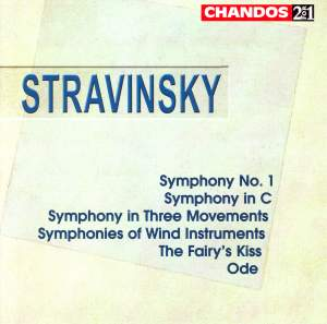 Stravinsky: Symphony No. 1, Symphony in C and other orchestral works