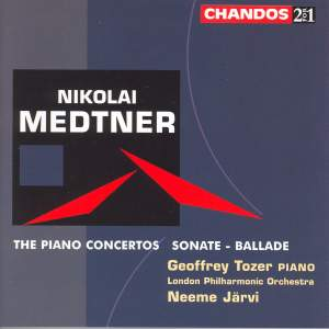 Nikolai Medtner - The Piano Concertos