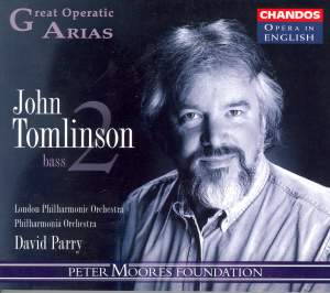 Great Operatic Arias 8 - John Tomlinson Volume 2