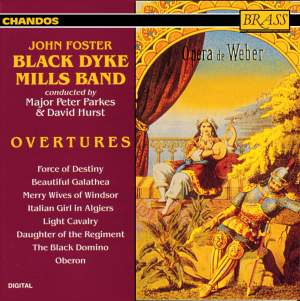 Black Dyke play Overtures