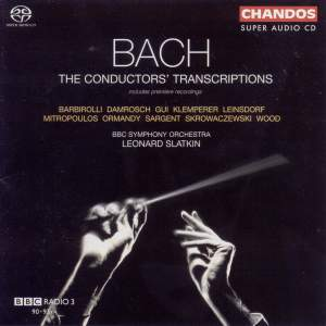 Bach - The Conductors' Transcriptions Product Image