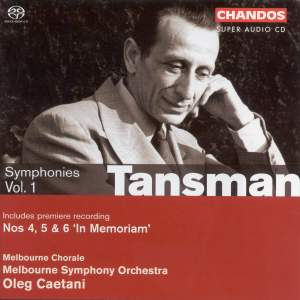 Tansman - Symphonies Volume 1 (The War Years)