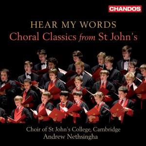 Hear My Words: Choral Classics from St John's Product Image