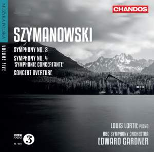 Szymanowski: Symphonies Nos. 2 & 4 & Concert Overture Product Image