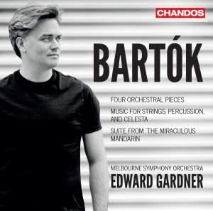 Bartók: Four Orchestral Pieces