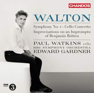 Walton: Symphony No. 2 & Cello Concerto Product Image