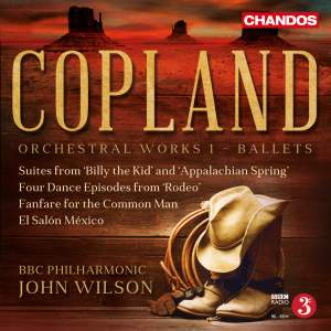 Copland: Orchestral Works, Vol. 1 - Ballets Product Image