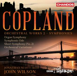 Copland: Orchestral Works, Vol. 2 - Symphonies Product Image