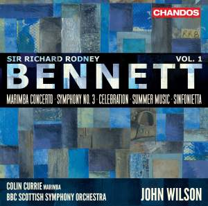 Sir Richard Rodney Bennett: Orchestral Works, Vol. 1 Product Image