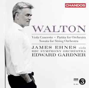 Walton: Viola Concerto, Partita for Orchestra & Sonata for String Orchestra