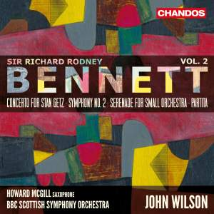 Sir Richard Rodney Bennett: Orchestral Works, Vol. 2 Product Image