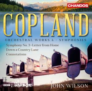 Copland: Orchestral Works Volume 4 Product Image