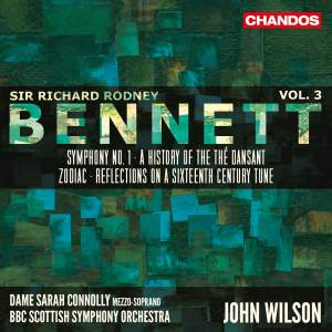 Sir Richard Rodney Bennett: Orchestral Works, Vol. 3