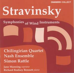 Stravinsky: Symphonies of Wind Instruments and other works