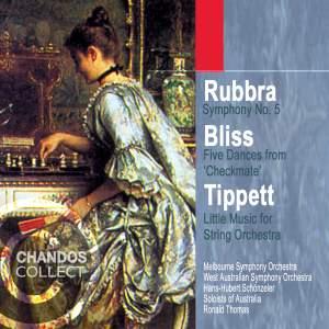 Rubbra, Bliss, Tippett: Orchestral Music