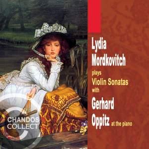 Lydia Mordkovitch plays Violin Sonatas