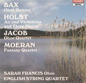 English Music for Oboe & String Quartet Product Image