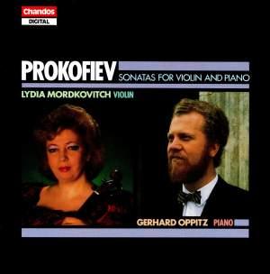 Prokofiev: Sonatas for Violin and Piano