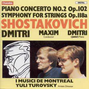 Shostakovich: Piano Concerto No. 2 in F major, Op. 102, etc.