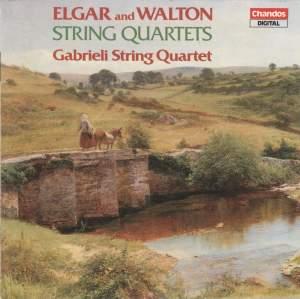 Elgar & Walton: String Quartets