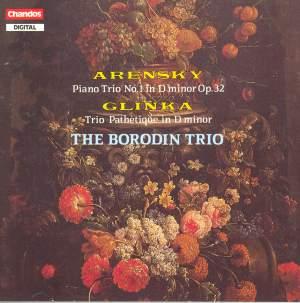 Arensky & Glinka: Trios