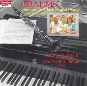 Brahms: Clarinet Sonatas Nos. 1 & 2