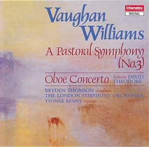 Vaughan Williams: Symphony No. 3 'A Pastoral Symphony', etc.