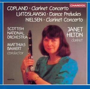 Copland: Clarinet Concerto, etc.