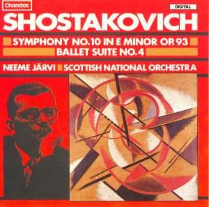 Shostakovich: Symphony No. 10 & Ballet Suite No. 4