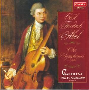 Abel, C F: Symphonies Op. 17 Nos. 1-6