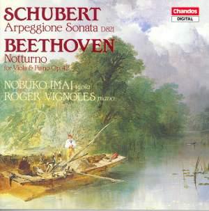 Schubert: Arpeggione Sonata & Beethoven: Nocturne for piano & viola