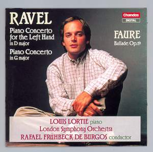 Ravel: Piano Concerto in D major (for the left hand), etc.
