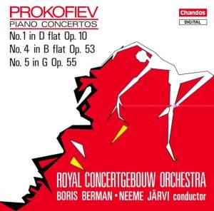 Prokofiev: Piano Concertos Nos. 1, 4 & 5