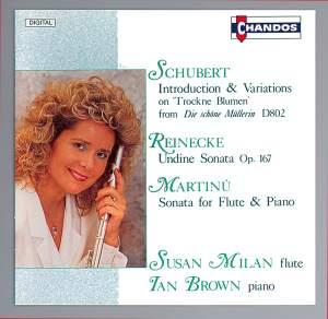 Susan Milan plays Schubert, Reinecke, Martinu