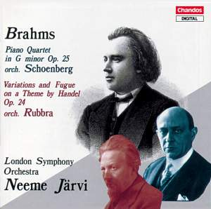 Brahms: Piano Quartet No. 1 & Variations and Fugue on a theme by Handel