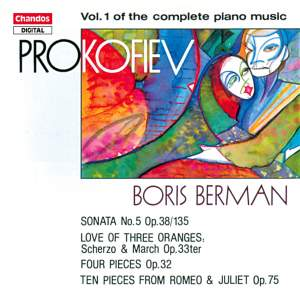 Prokofiev - Complete Piano Music Volume 1