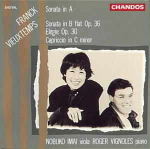 Franck, C: Violin Sonata in A major, etc.