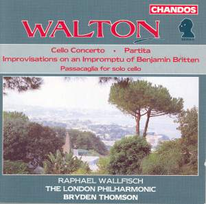 Walton: Cello Concerto, etc.