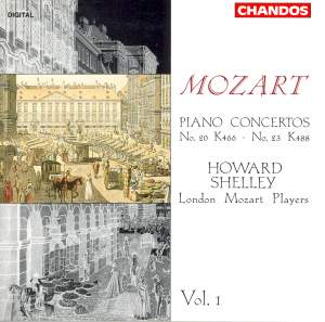 Mozart: Piano Concertos Nos 20 & 23 Product Image