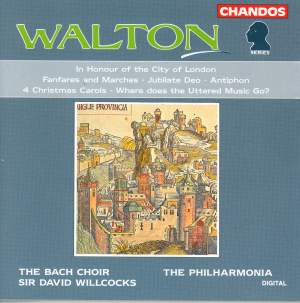 Walton: A Queen's Fanfare and other works