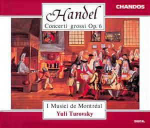 Handel: Concerti grossi Op. 6 Nos. 1-12 HWV319-330 Product Image